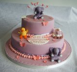Elephants Christening cake.JPG