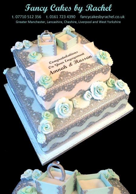 Engagement Anniversary Cakes