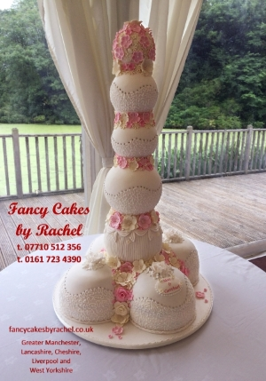 About Fancy Cakes By Rachel - Sphere Wedding Cake
