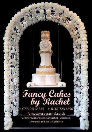Chandelier Hanging Upside Down Wedding Cakes Fancy Cakes By Rachel