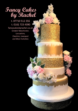 Wedding Cakes Manchester Fancy Cakes By Rachel - Create Your Wedding Cake