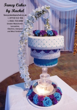 wedding cake stand hire manchester chandelier hanging wedding cakes fancy cakes 25625