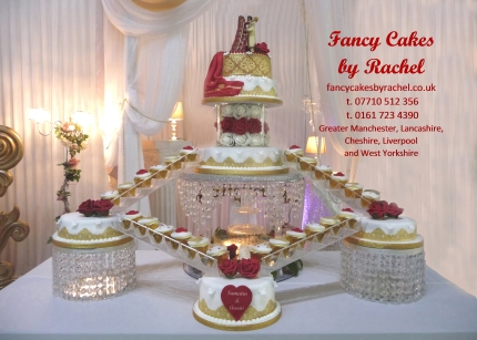 Our Water Fountain Adds An Extra Dimension To Your Wedding Cake